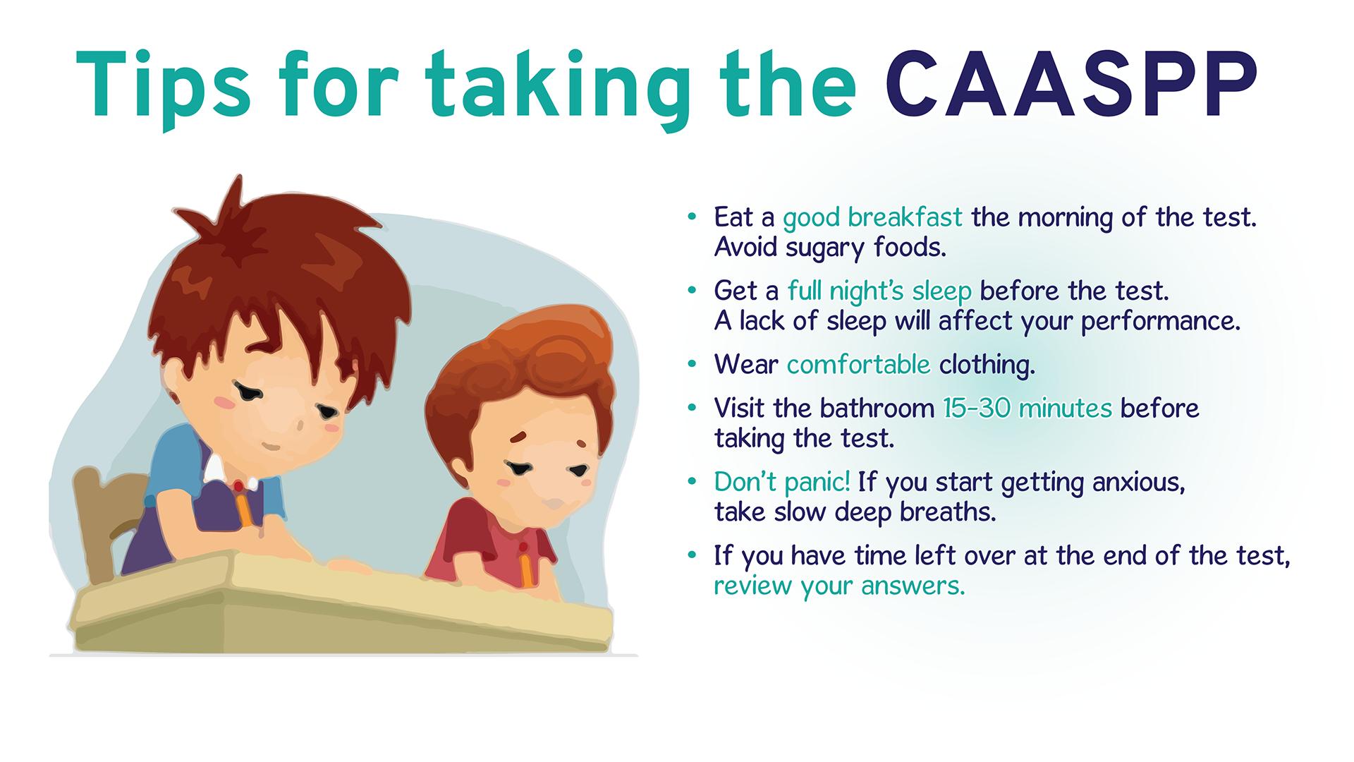 CAASPP Tips
