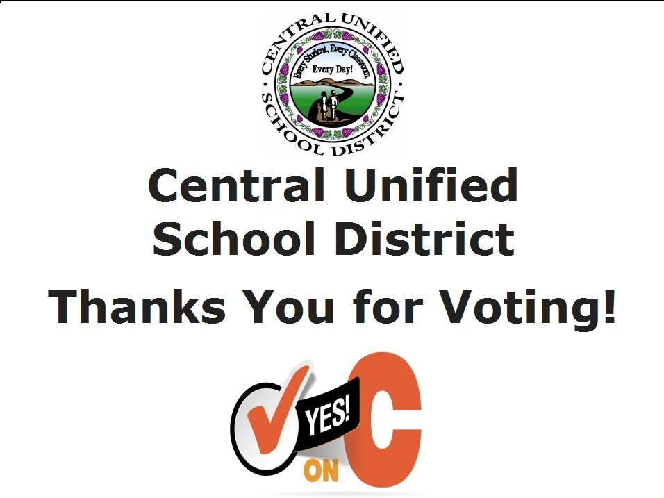 Thank You for voting Measure C