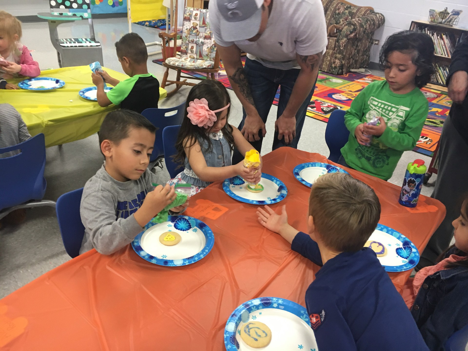 Pre-K Easter Party