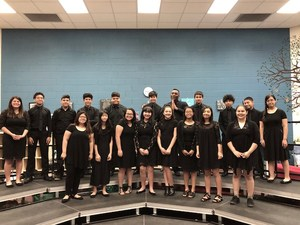 DMS Jazz Band students