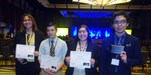 Pictured are MHS FBLA National Qualifiers are Ashmin Torres, Ruben Cantu, Kenya Salinas, and Juan Reyna.