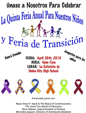 disability awareness fair spanish flyer