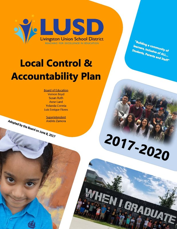 Local Control & Accountability Plan Cover