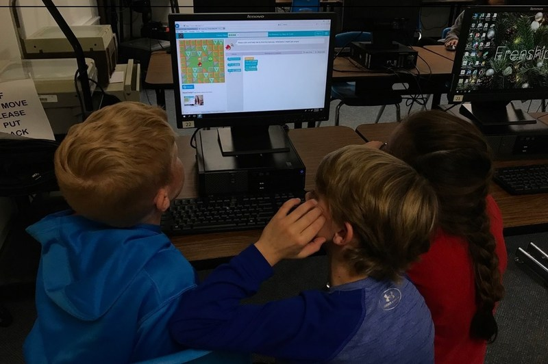 FISD Students Participate in Hour of Code