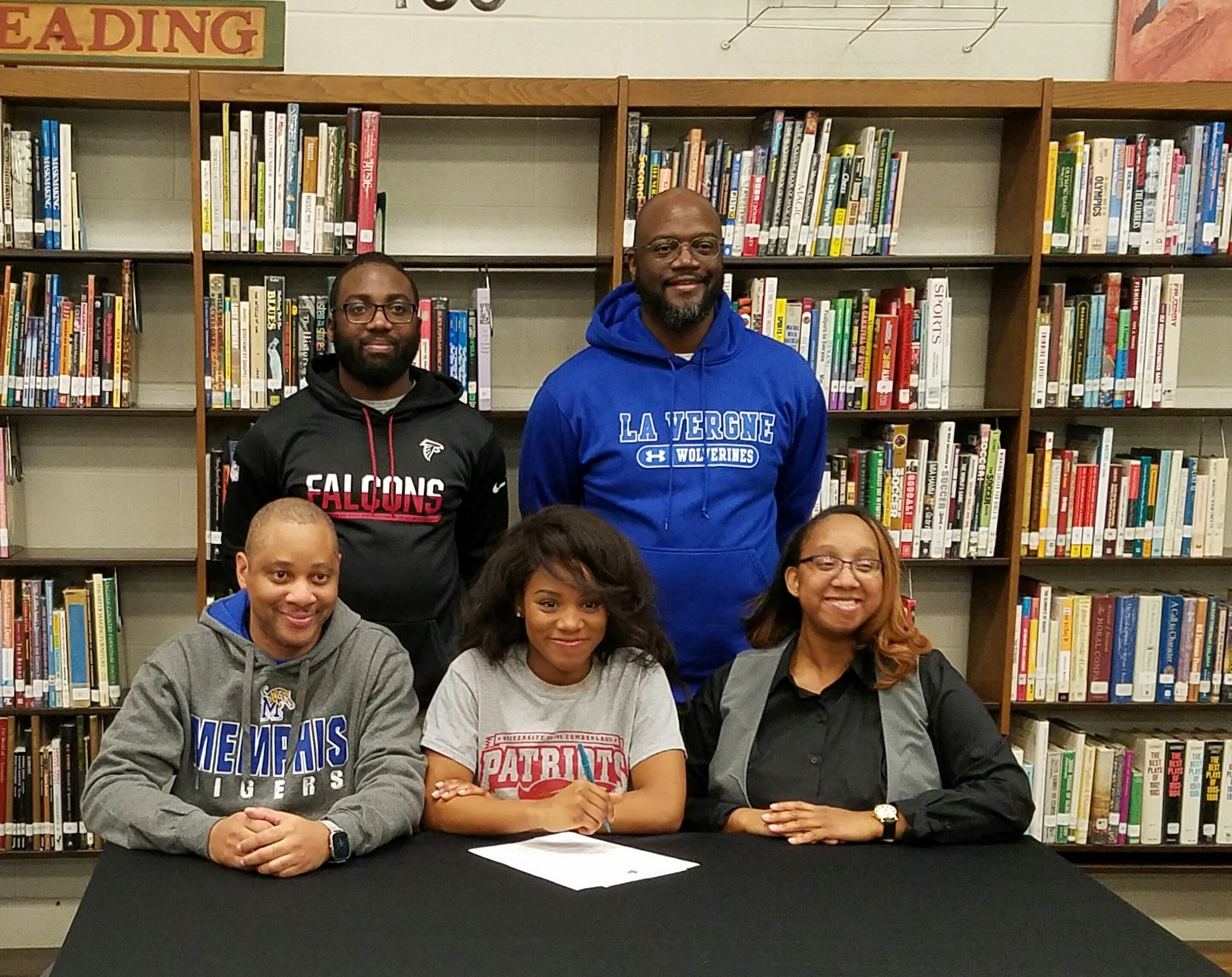 Dymanique Thompson signs with The University of the Cumberlands