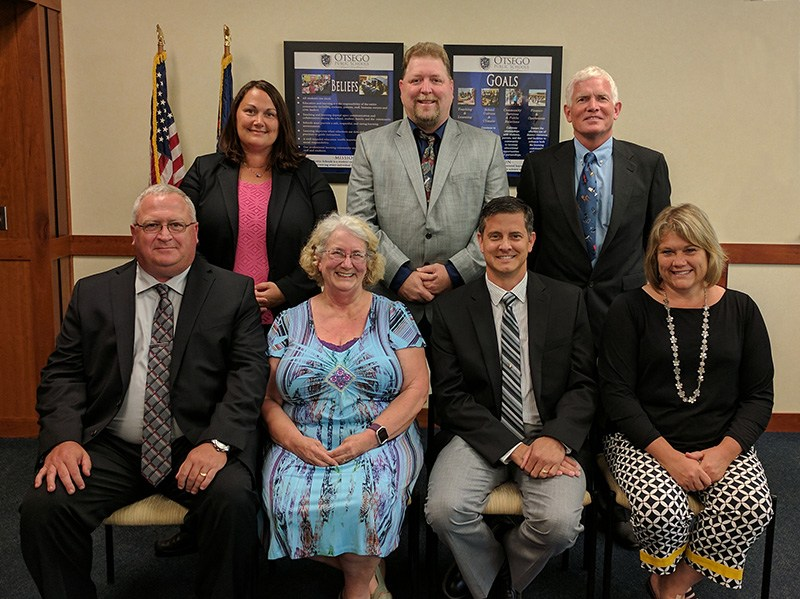 Otsego Board of Education Members