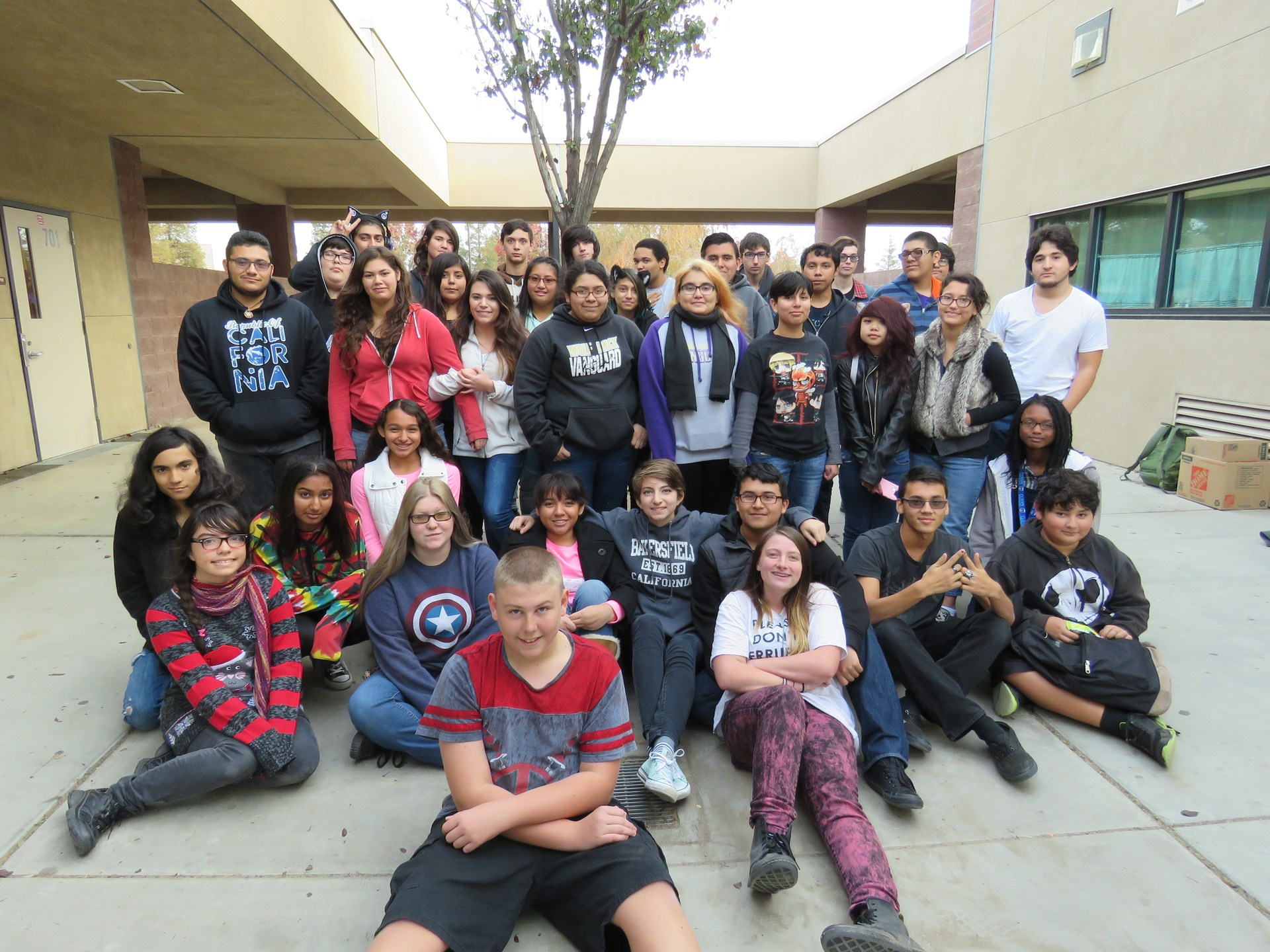 RHS Anime Club Group Picture