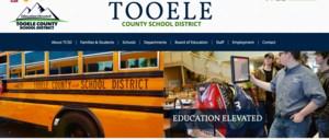 Tooele County School District Website