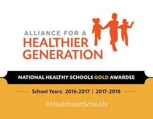 Gold Award graphic from the Alliance for a Healthier Generation