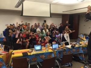 iPersonalize teachers at Summer Professional Development