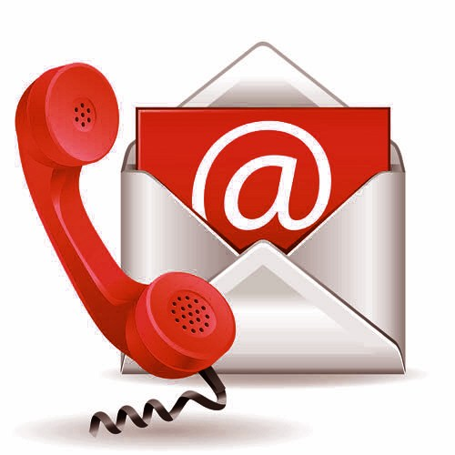 Email and phone logo