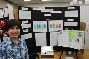 Colby Gilardian, Beverly Vista, Middle School Overall 3rd place