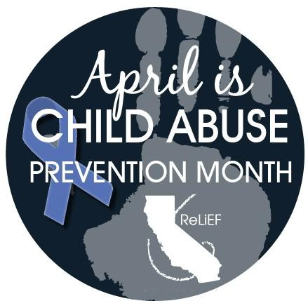 Child Abuse Prevention Month logo