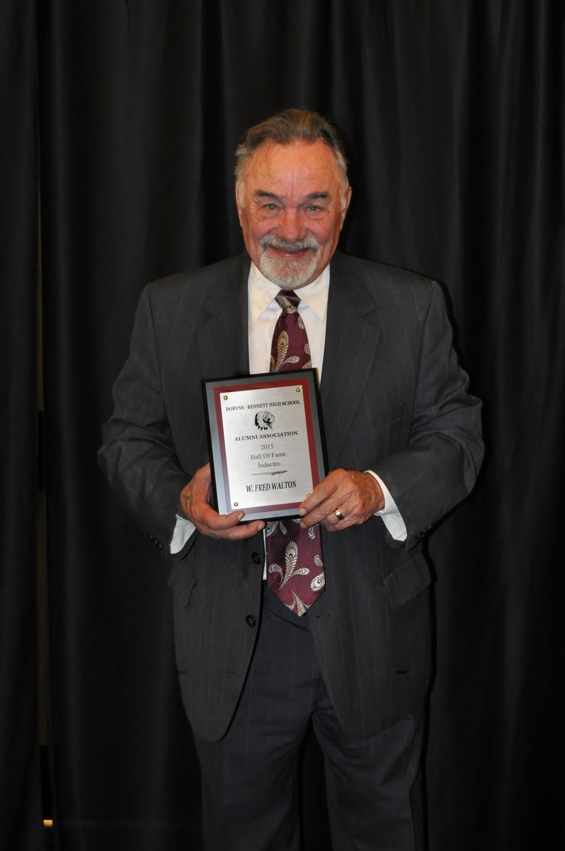 7th Annual Dobyns-Bennett Alumni Hall of Fame Inductee: Fred Walton – Class of 1963