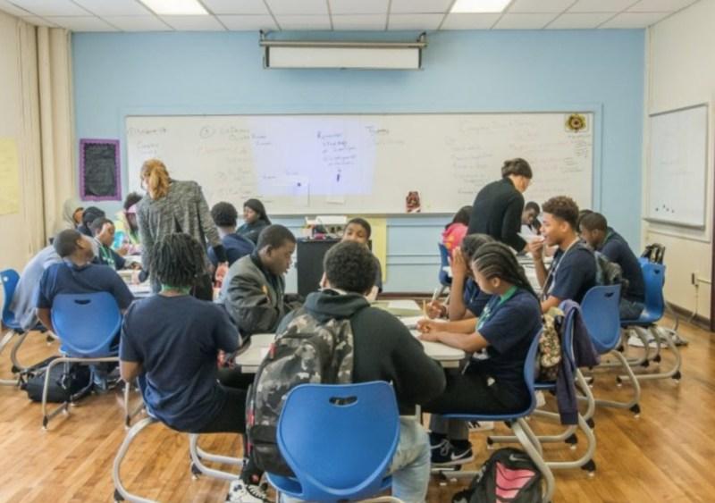 vaux, classroom, advisory, advisor, vaux big picture