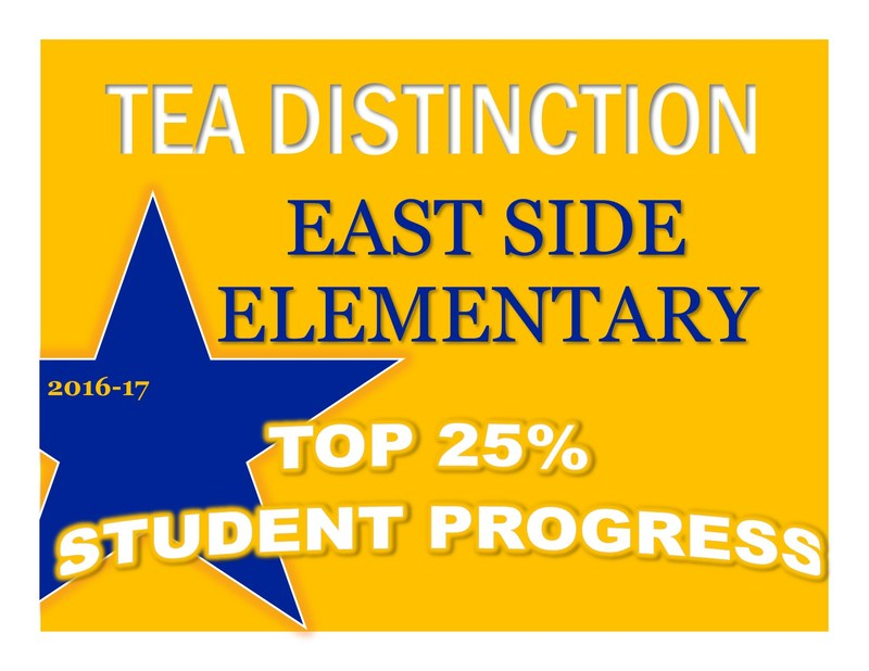 picture of a star with East Side Top 25% Distinction