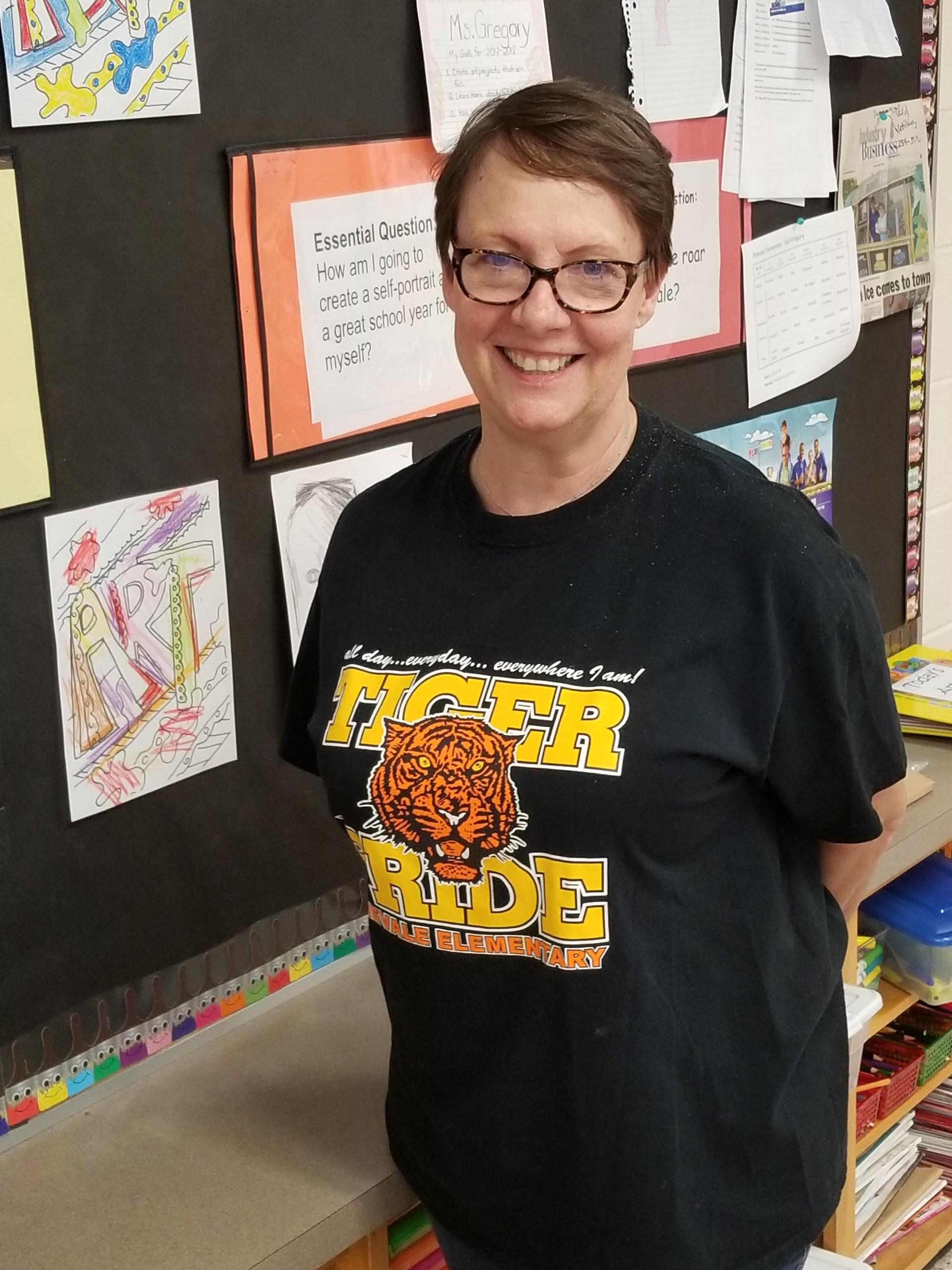 Ms. Gail Gregory, Art Teacher