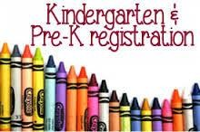 Pre-K and Kindergarten Registration Through May 25th! Thumbnail Image