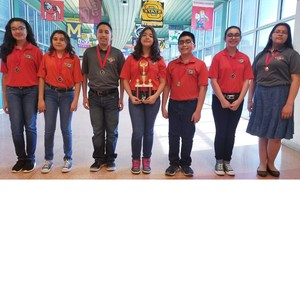 Flying Falcons DI Team earns 2nd place