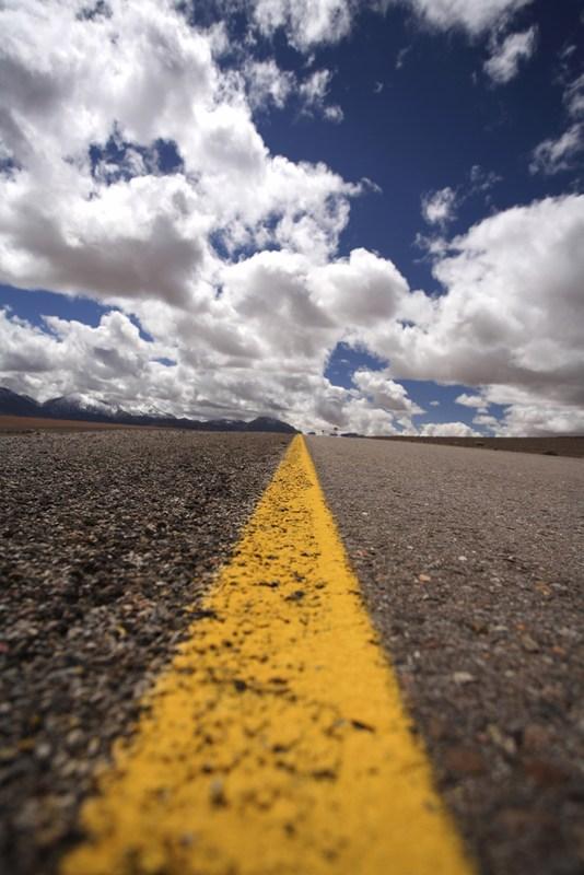 Superintendent's Road Show newsletter (photo of empty roadway horizon)