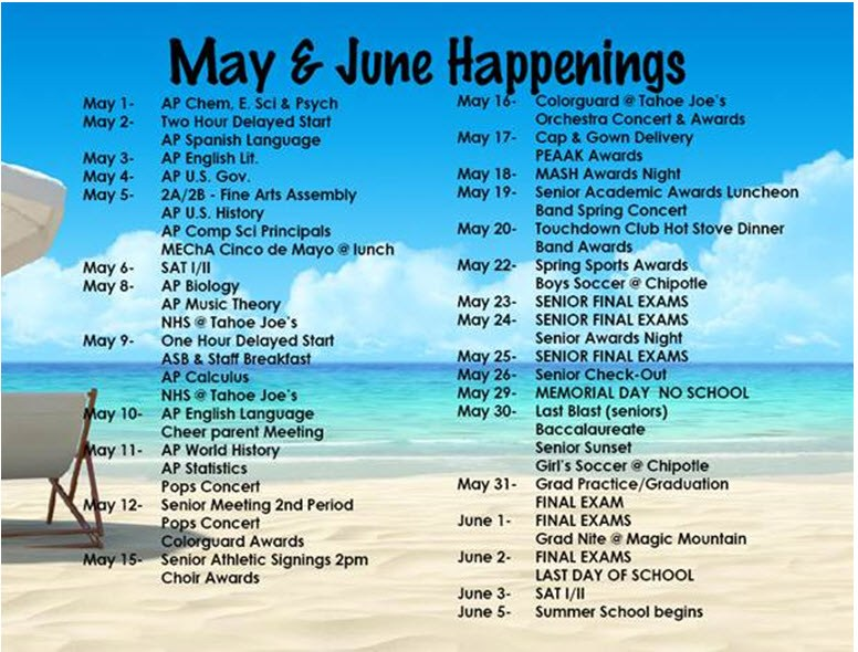 May & June Happenings Thumbnail Image