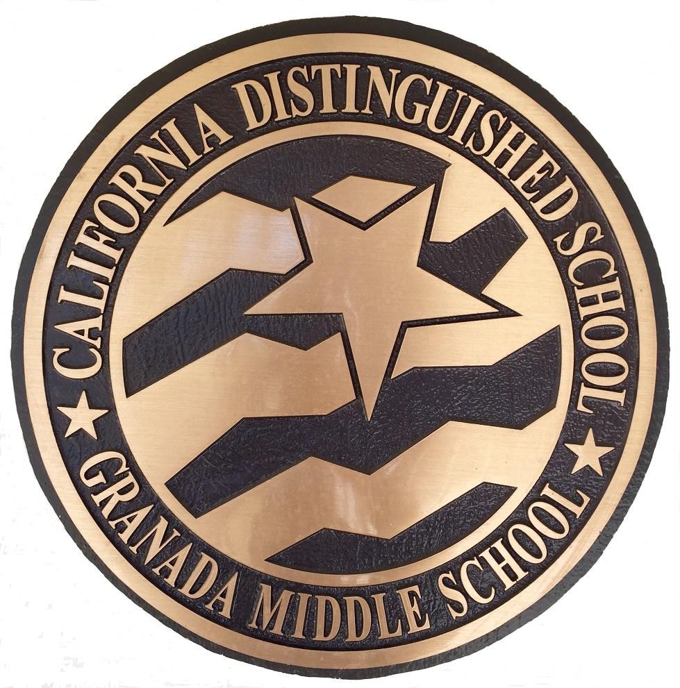 Distinguished School Plaque