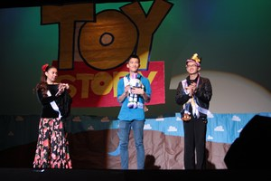 SGHS Students Perform Talents On-Stage