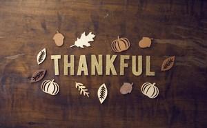 Thankful illustration