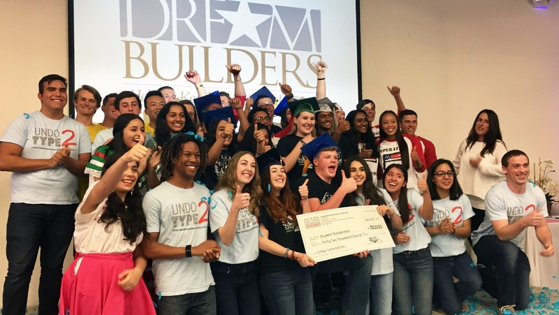 Group photo from Dream Builders awards ceremony.