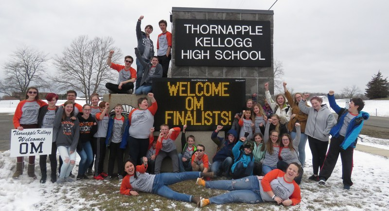 TK welcomes teams to the state OM finals.