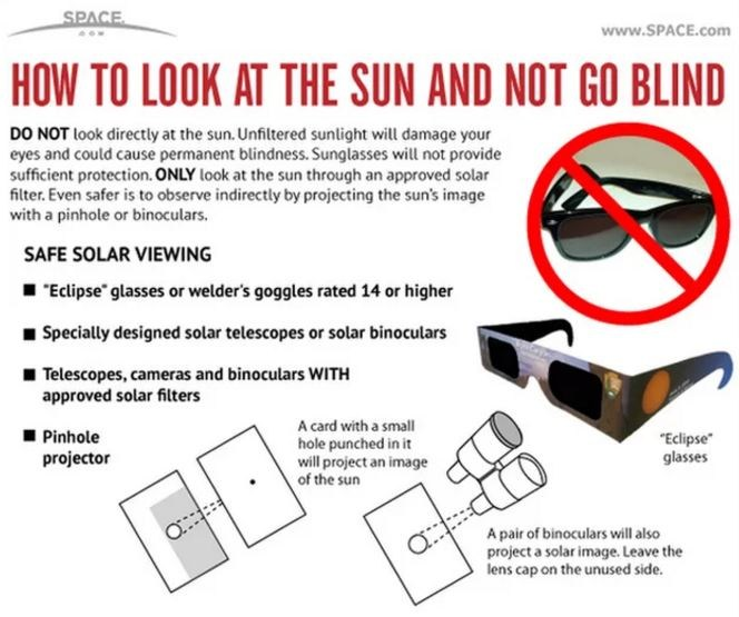 Solar Eclipse - IMPORTANT INFORMATION Featured Photo