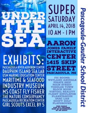 Under the Sea April 14, 2018 10 AM - 1 PM
