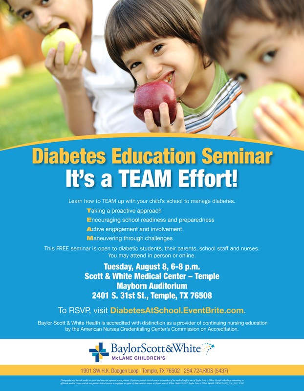 Diabetes Education Seminar