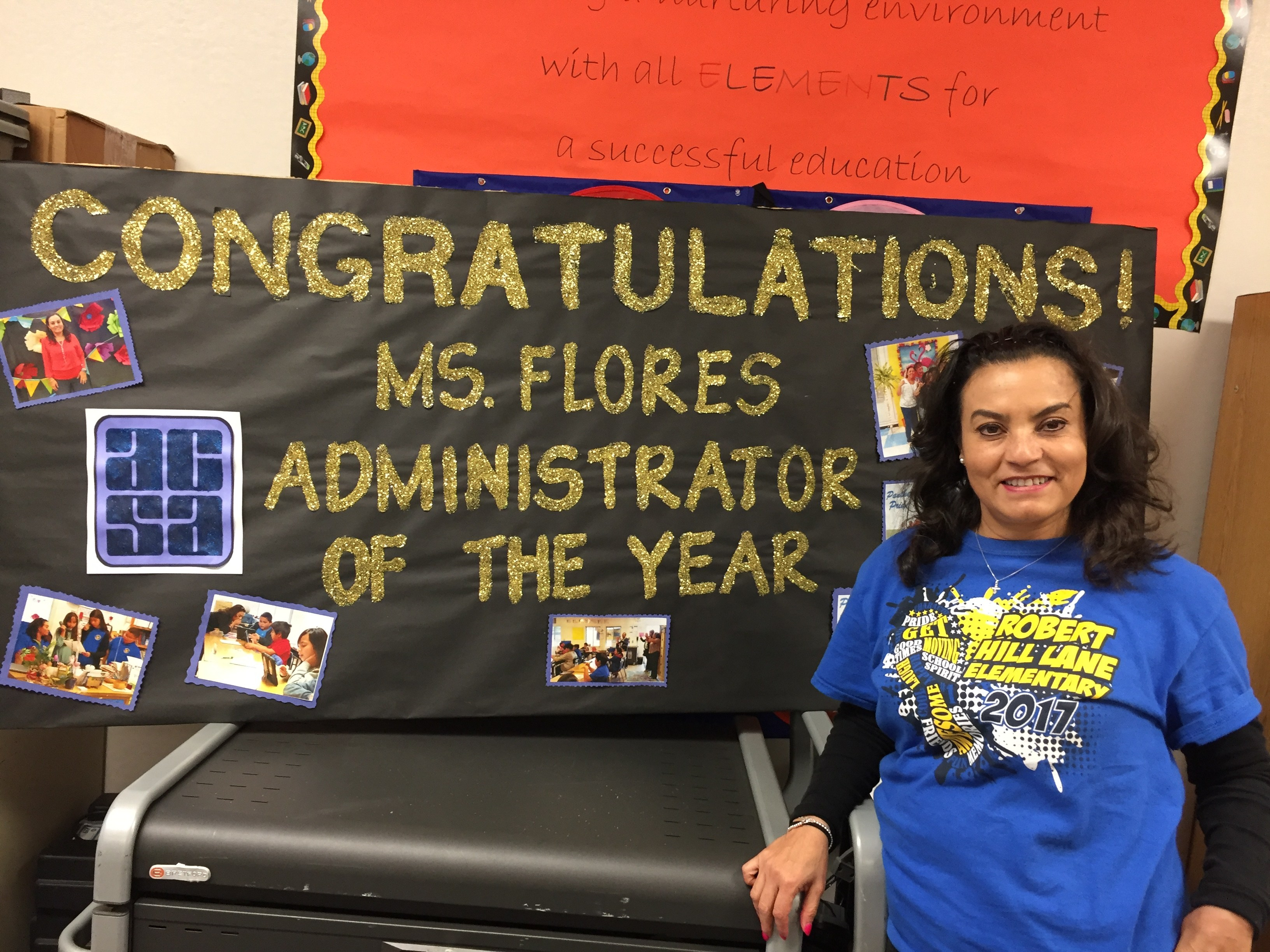 Administrator of the Year-Principal Category: Josie Flores, Robert Hill Lane ES Image