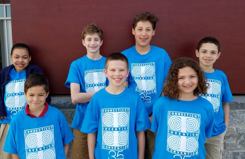 Six C.H. Barrows STEM Academy Students Invited to National Invention Convention Thumbnail Image