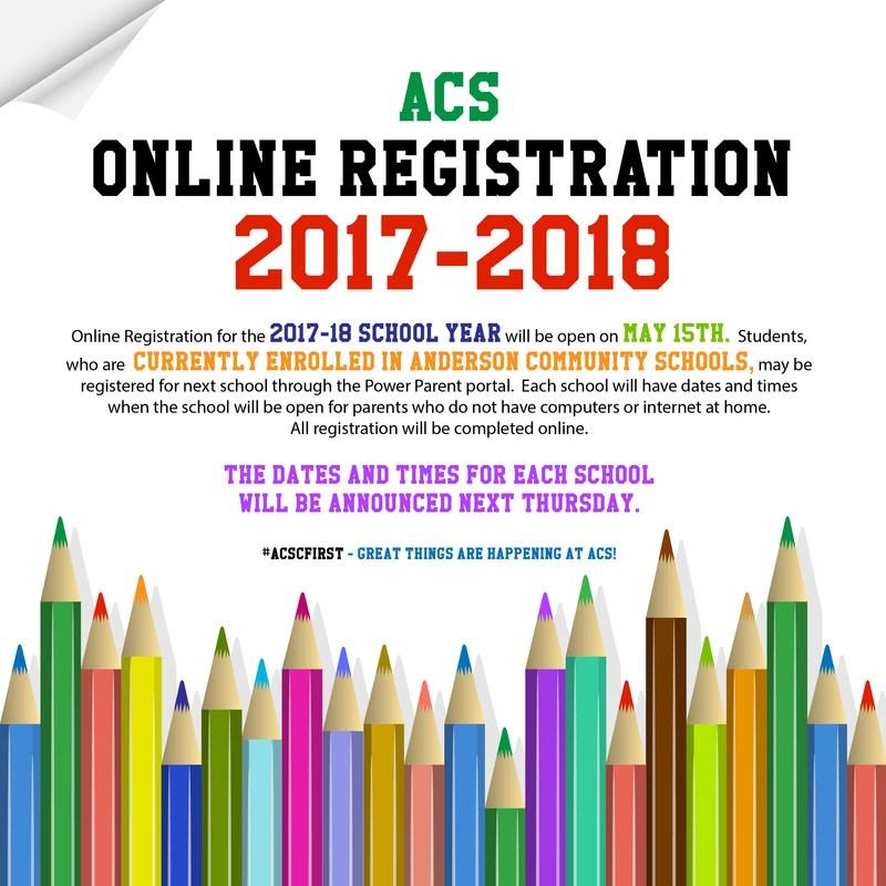 2017-2018 On Line Registration Info Thumbnail Image