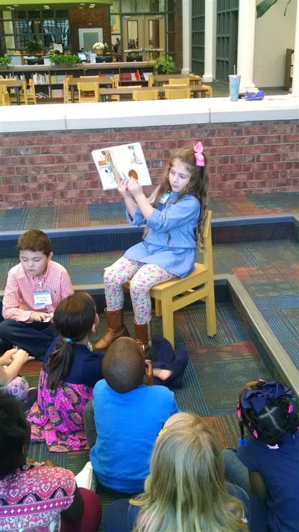CCPS student reading