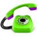 Green telephone
