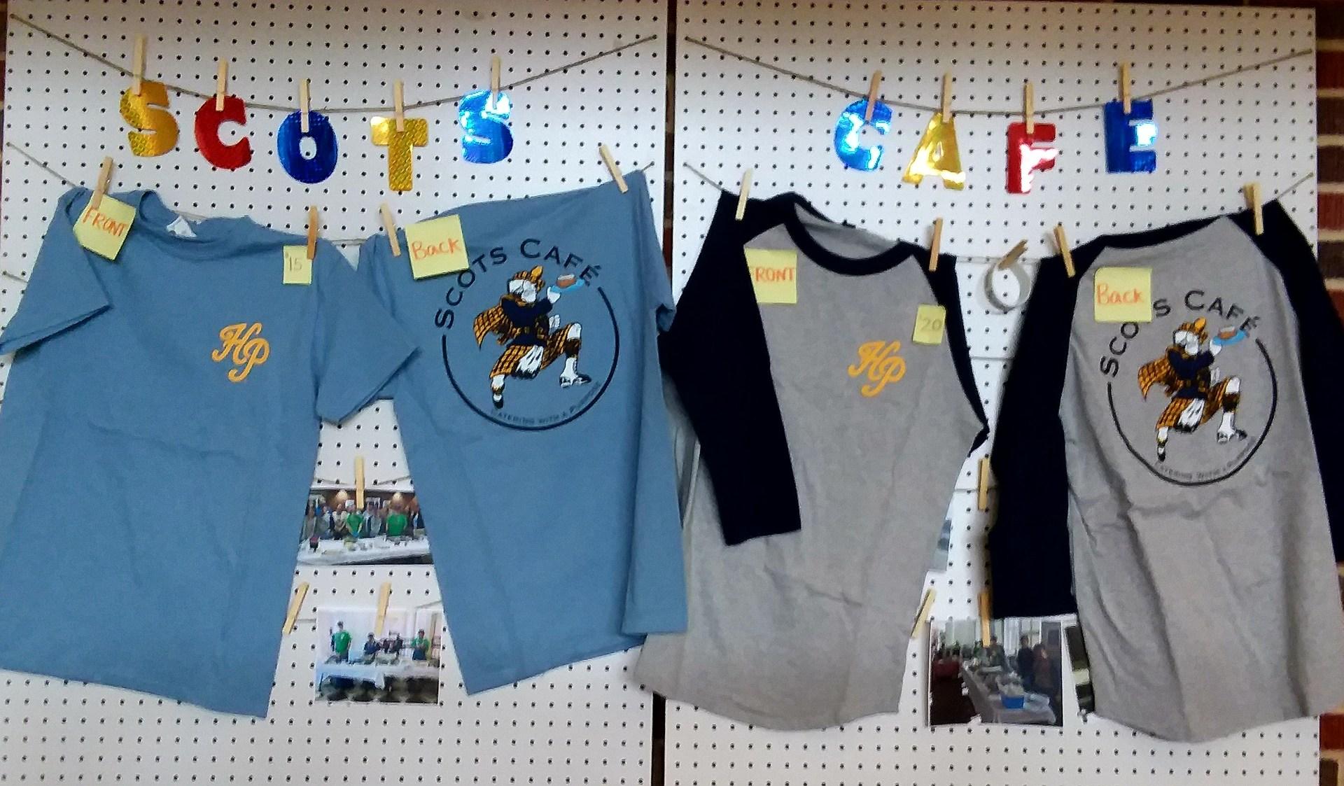 Scots Cafe t-shirts
