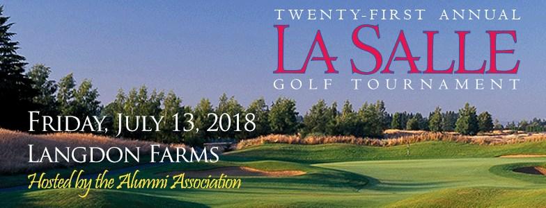 Langdon Farms Golf Course golf tournament header