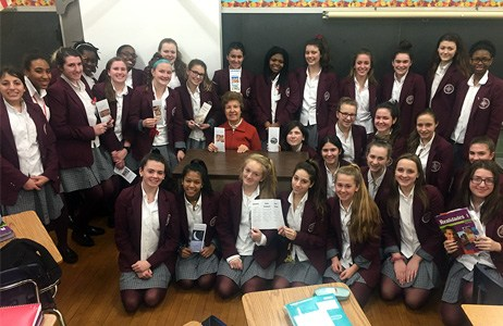 S. Lucy Blyskal's Lifelong Love of Learning Inspires Freshmen at Sacred Heart Featured Photo