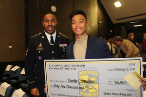 U.S. Army Reserve Minuteman Scholarship valued up $65,000 Davin Gumabon