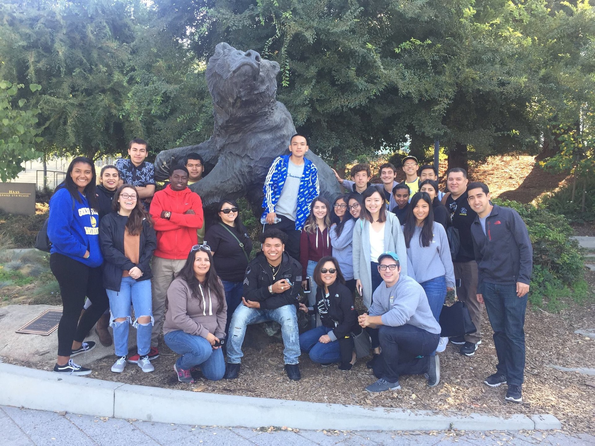 Image of Del Mar College Map Students visiting University of California at Berkeley