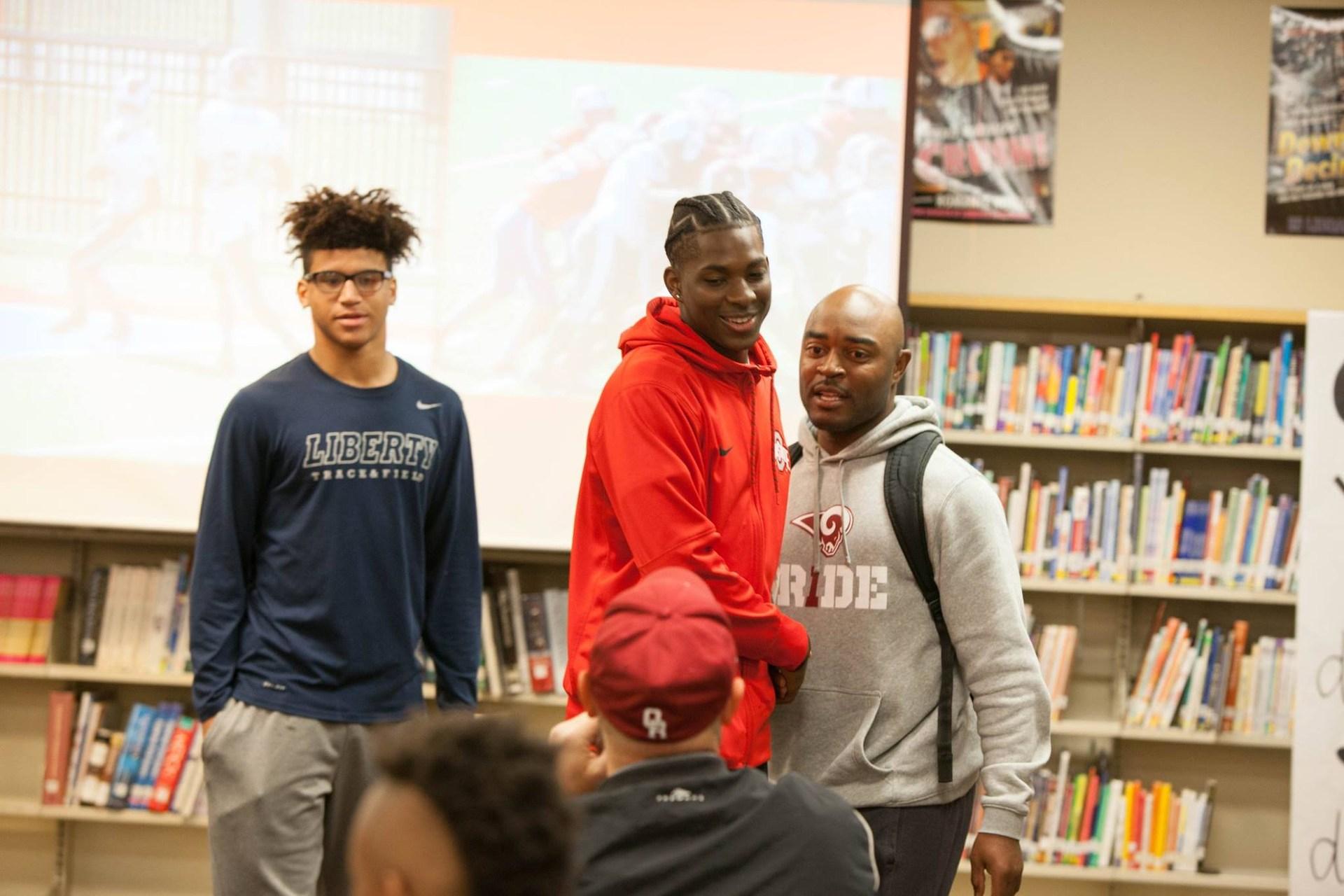 coach with boys