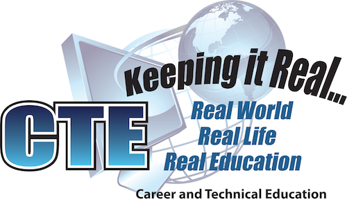CTE Keeping it Real logo