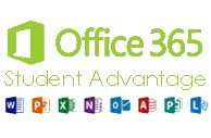 Microsoft Office 365 Student Advantage Graphic