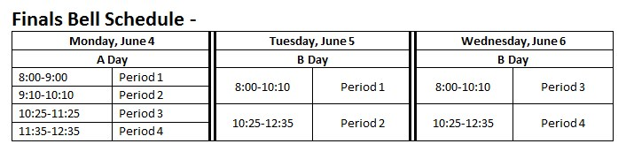 Final Bell Schedule Thumbnail Image