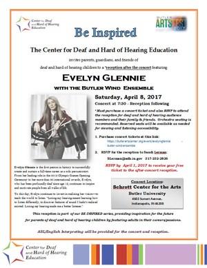 Evelyn Glennie Flyer