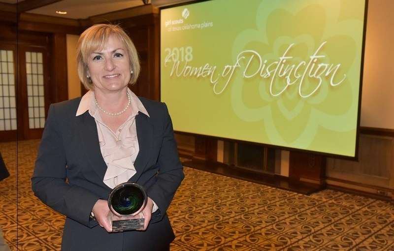 Dr. Michelle McCord Woman of Distinction Award