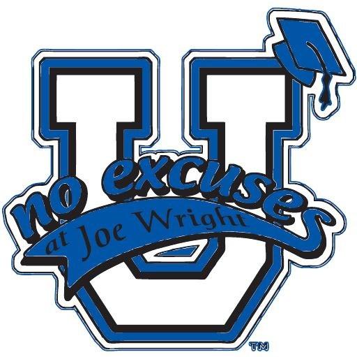 joe wright no excuses logo